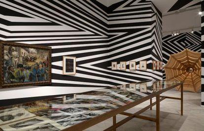 Vista de una de las salas de la exposición 'Un saber realmente útil'.