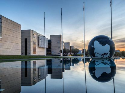 Centro de innovación de Repsol en Móstoles (Madrid).