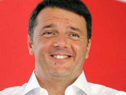 Matteo Renzi, en la fiesta de su partido el 7 de septiembre.