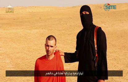 David Haines aparecía en el vídeo de la ejecución de Sotloff.