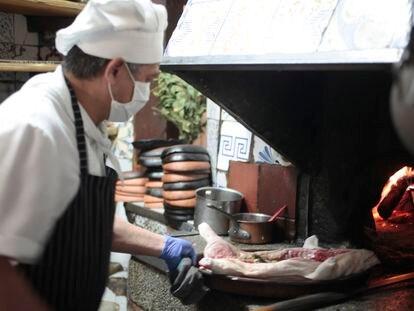 El horno de Botín, en Madrid, lleva encendido desde 1725.