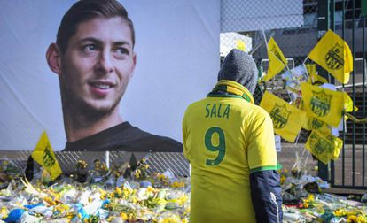 Homenaje a Emiliano Sala.