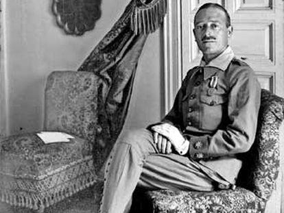 El teniente coronel José Millán Astray.