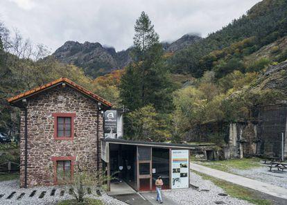 El centro de interpretación de Arditurri.