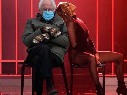 Meme de Bernie y J. Lo