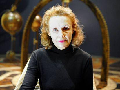 La compositora Kaija Saariaho presenta su ópera 'Emilie' en 2010 en Lyon.