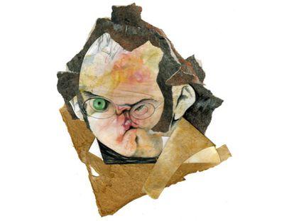 Franz Schubert, visto por Schianmarella.