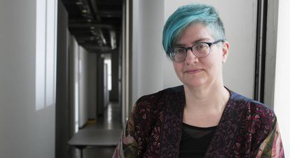 Cathy O'Neil es matemática, científica de datos y activista.