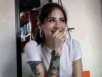 La joven asesinada en Ciudad de México, Fernanda Olivares 'Polly'.