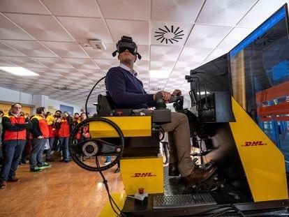 Inauguración del Centro de Formación Avanzada de Randstad y DHL en Seseña (Toledo), el pasado enero.