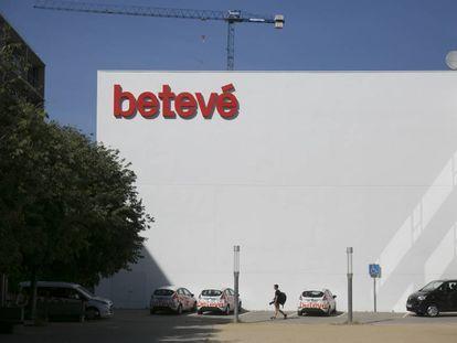 Estudios de la cadena Betevé, en Barcelona.