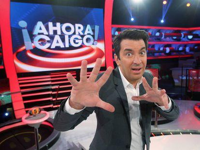 Arturo Valls, presentador de '¡Ahora caigo!'.