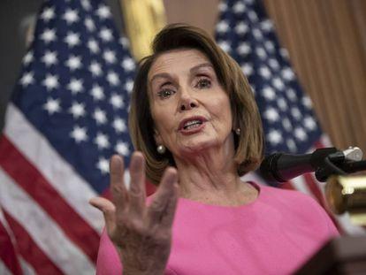 La congresista demócrata Nancy Pelosi.