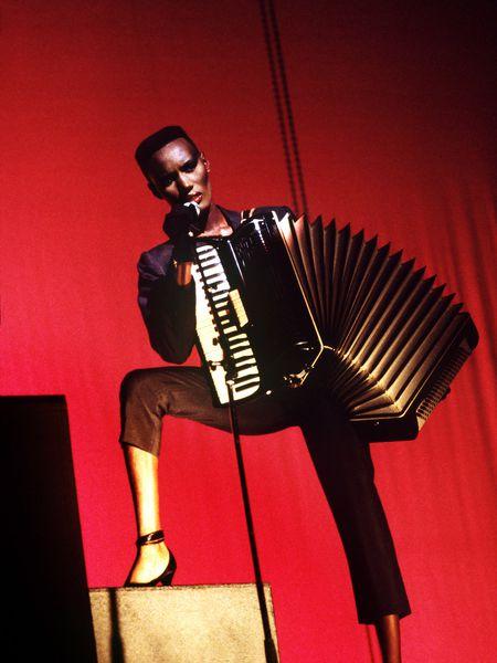 Grace Jones, en una imagen promocional del disco 'I´ve Seen That Face Before'