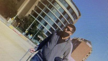 El montenegrino Prelevic Nebujosa, detenido en la operación Musala, en una imagen de la policía tomada en Málaga.