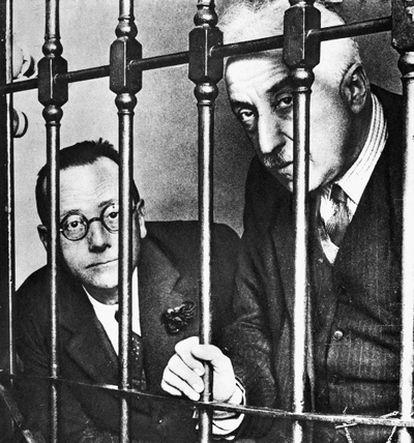 El político español Niceto Alcalá-Zamora (derecha), en una imagen de principios de 1931.