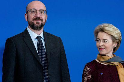 Charles Michel, presidente del Consejo Europeo, y Ursula von der Leyen, presidenta de la Comisión, el pasado 1 de diciembre en Bruselas.