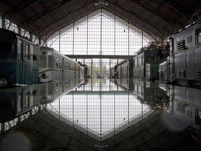 Museo del Ferrocarril, en la Estación de Delicias (Madrid).