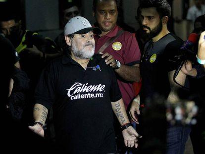 Maradona, tras la final con Dorados.
