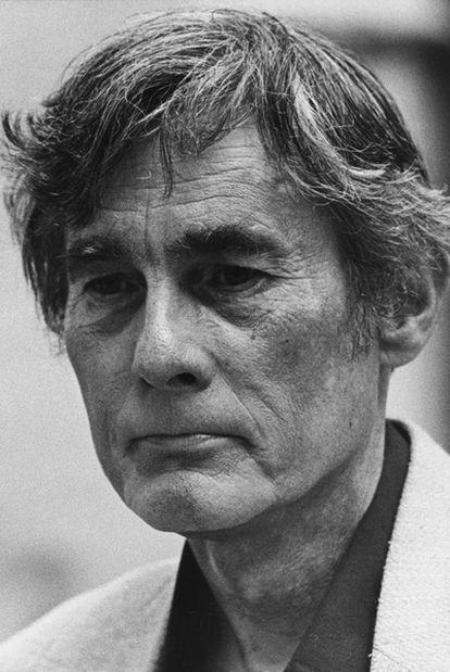 Theodore Roszak, teórico de la contracultura, en 1987.