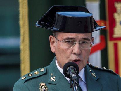 El coronel Diego Pérez de los Cobos, en una imagen de archivo.