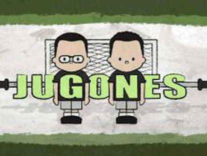 Logotipo del programa de estreno 'Jugones'.