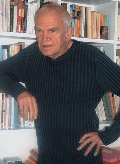 Milan Kundera, en una imagen de archivo de 2005