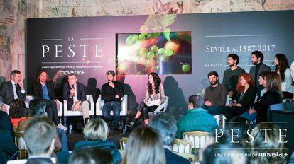 Presentación de la serie 'La Peste', producida por Movistar +.