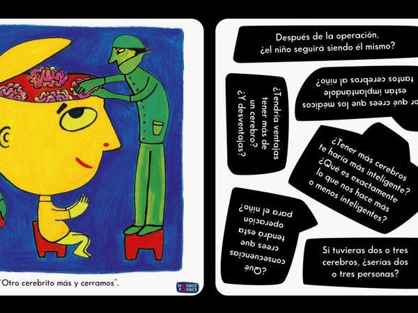 Escena del libro 'Yo, persona' (2015). Textos de Ellen Duthie e ilustraciones de Daniela Martagón.