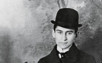 El escritor Franz Kafka alrededor de 1905.
