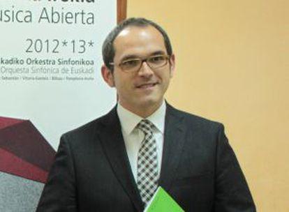 El director de la OSE, Iñigo Alberdi, en una imagen de archivo.