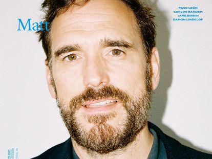 Matt Dillon en nuestra portada del número de diciembre.