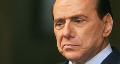 El ex primer ministro italiano, Silvio Berlusconi en Roma el pasado martes.