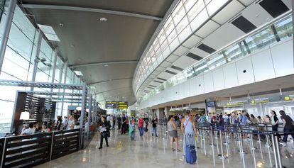 Imagen de la nueva terminal del aeropuerto de Manises.