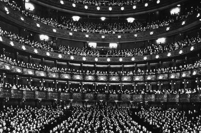 El Metropolitan Opera House en 1940