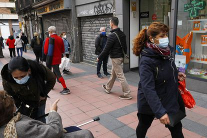 Imagen de una calle de Madrid.