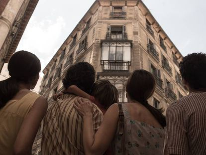 Fotograma de la película 'Malasaña 32'