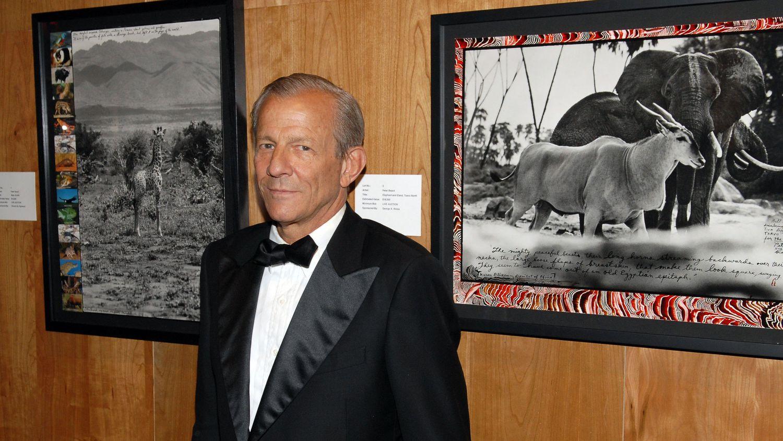 Peter Beard asiste a un evento en Nueva York, en mayo de 2006.