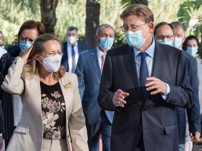 La vicepresidenta del Gobierno de España y ministra de Asuntos Económicos y Transformación Digital, Nadia Calviño.