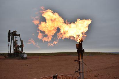 Un pozo petrolero en Watford City (Dakota del Norte, EE UU), en una imagen tomada en agosto.