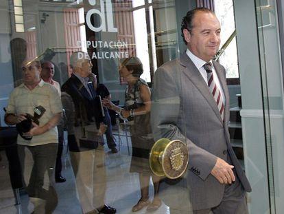 Despedida de José Joaquín Ripoll como presidente de la Diputación de Alicante.