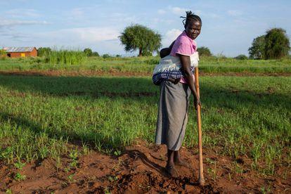 Una campesina en Torit (Sudán del Sur).