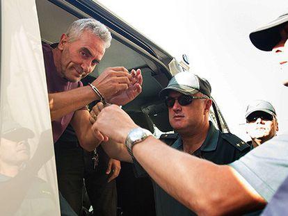 Diego Cañamero entrando al TSJA.