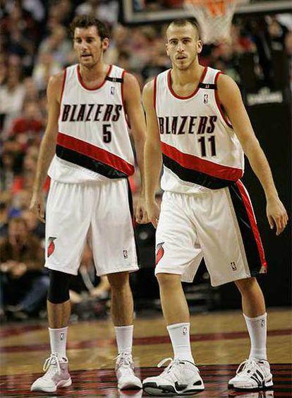 Los dos españoles, juntos en los Blazers