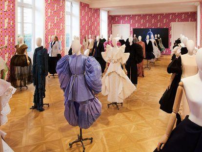 Los diseños presentados por la firma Loewe en la Semana de la Moda de París de octubre de 2020.