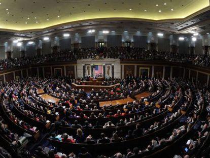 La Cámara de Representantes de EE UU.