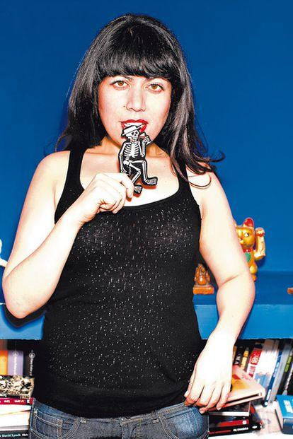 <b>La filósofa, escritora y bloguera mexicana Sayak Valencia, de 29 años.</b>