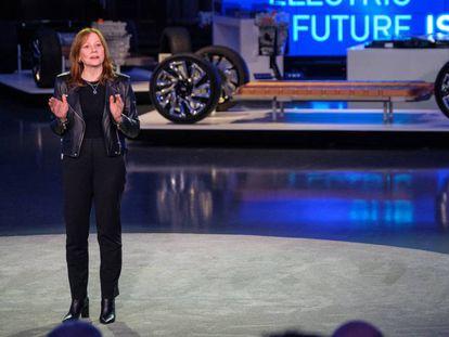 La presidenta y consejera delegada de General Motors, Mary Barra.