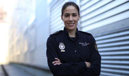 La inspectora y jefa técnica de la Unidad de Investigación Tecnológica, Silvia Barrera