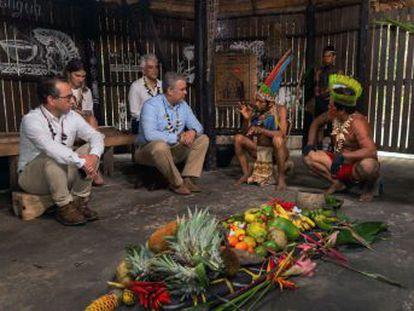 Los firmantes acuerdan crear una red de cooperación ante los desastres naturales
